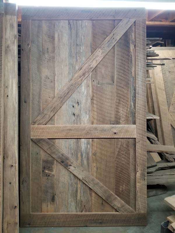 One Of A Kind Barn Door