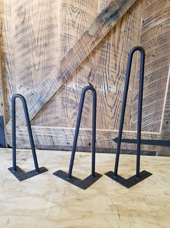 cast iron hairpin legs
