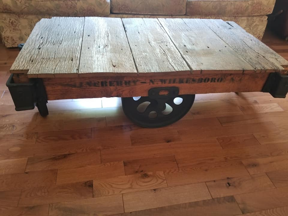 Linberry Cart Reclaimed Lumber