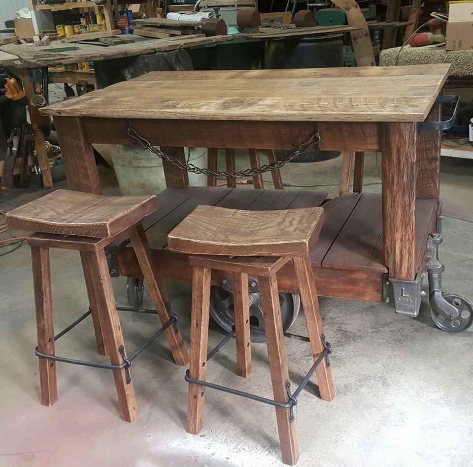 Rustic Furnishings Table Custom Made